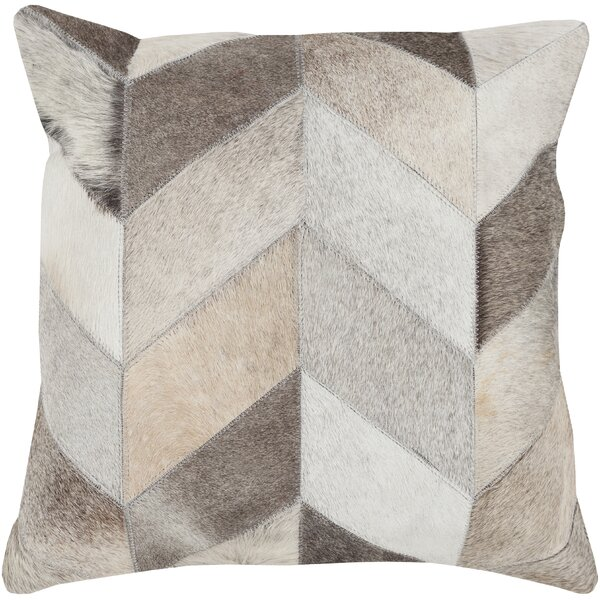 Krueger 100% Cotton Throw Pillow by Union Rustic